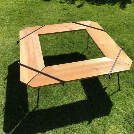 囲炉裏テーブル 1組 4脚