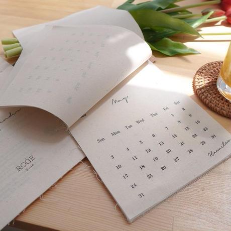 マイファブリックカレンダーSP【2020-2021年度】