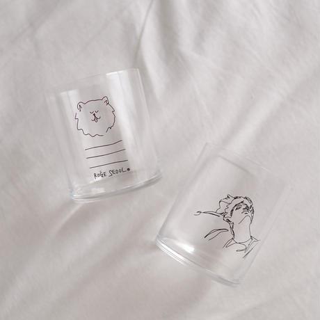 9月19日21時販売《 コラボモデル》HOME CAFE GLASS [DRAWING]