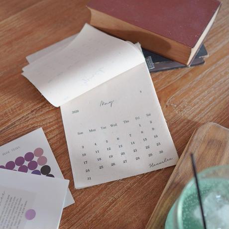 ファブリックカレンダー通常版(名入れ不可)【2020-2021年度】