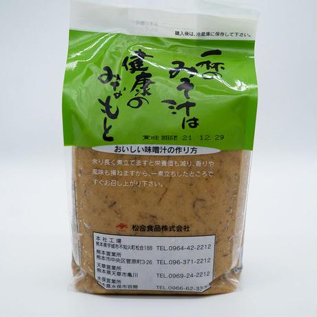 松合食品 無添加まごころ麦みそ 1kg