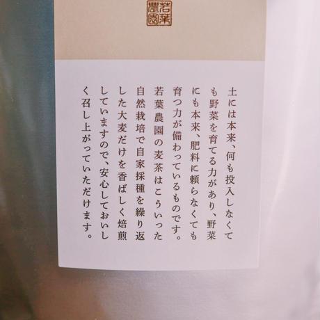 若葉農園の自然栽培麦茶[粒タイプ]