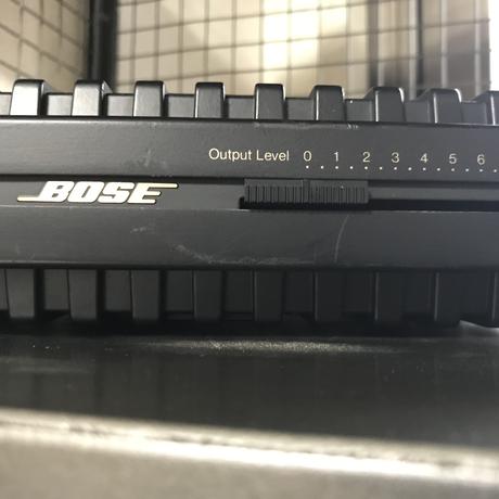 BOSE 1701 パワーアンプ 58F160156