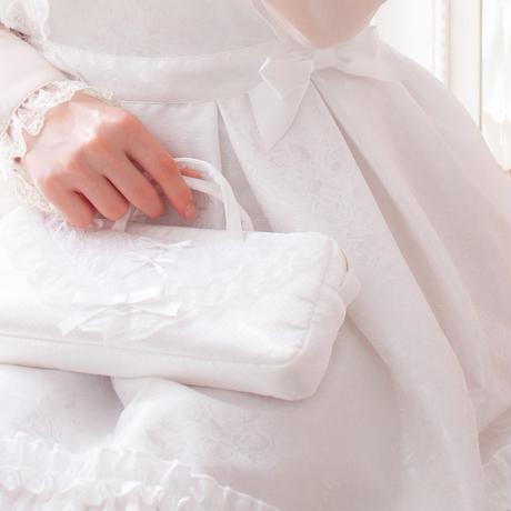 花嫁様のウェディングポーチ〔リボンプリンセス〕