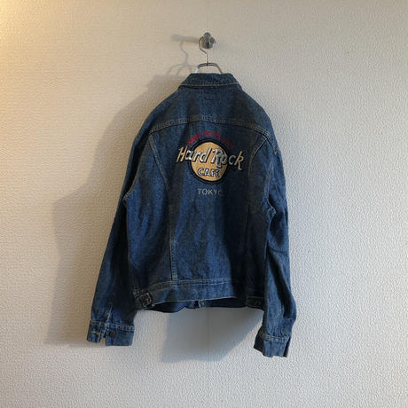 Lee × Hard Rock Cafe denim jacket