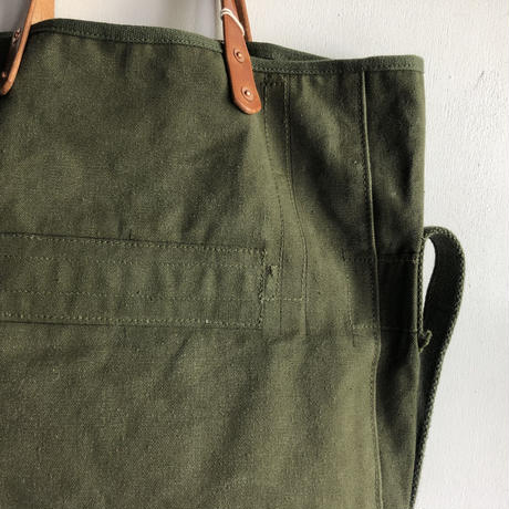 #1101 1960's USMC field cargo pack modified