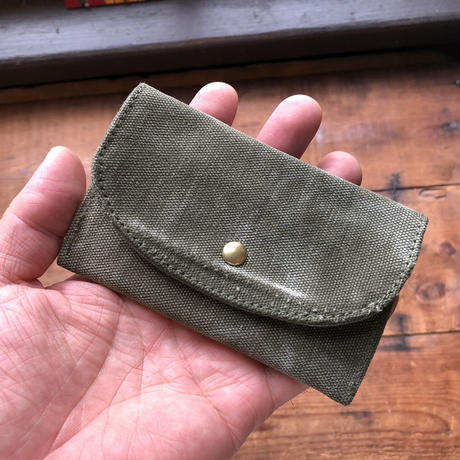 vintage fabric card case
