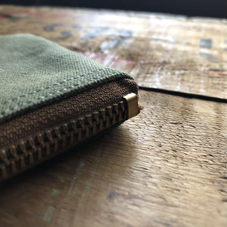 1960's canvas pouch