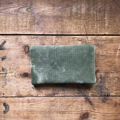 "card case  ""1940's khaki twill"""
