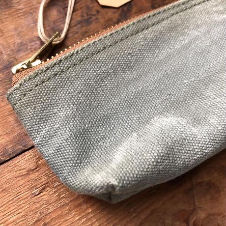 1980's canvas pouch or pen case (049)