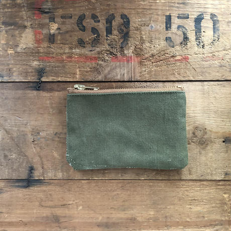 1960's canvas pouch square type