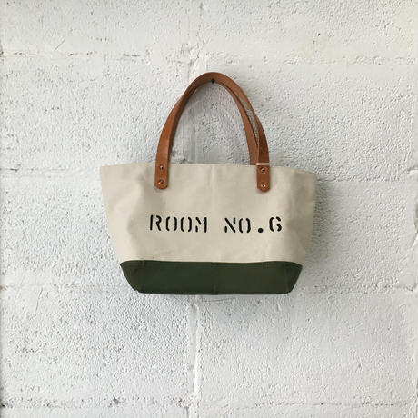 #354 patched tote mini