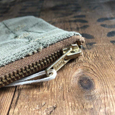 1940's canvas pouch (046)