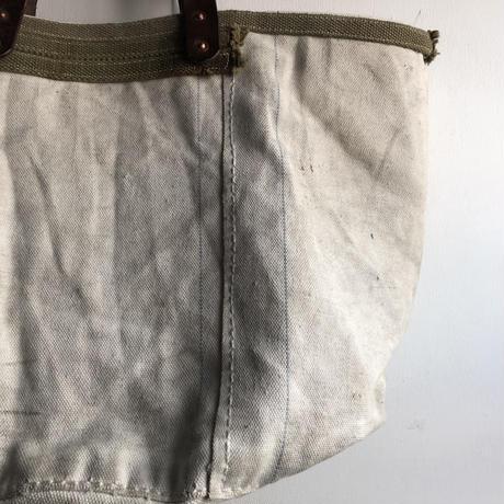 #856 1940's U.S. coast guard sea bag tote