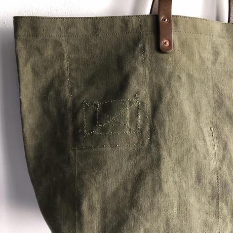 #1186 1940's duffle tote