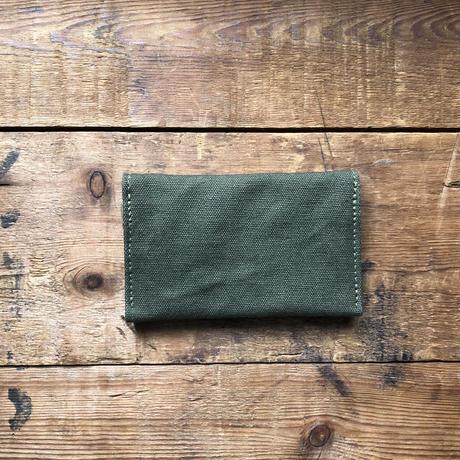 "card case  ""late 70's brown leaf camo"""