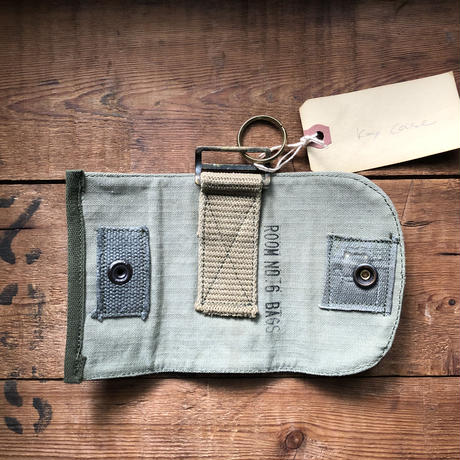 vintage military custom keycase