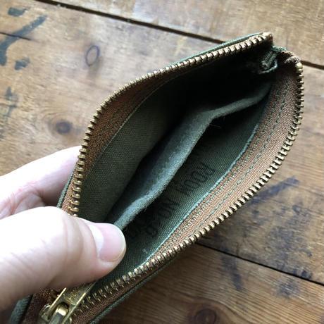 Vintage canvas pouch (071)