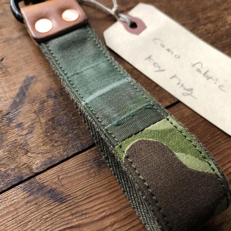 Camouflage fabric  Key ring Long #3