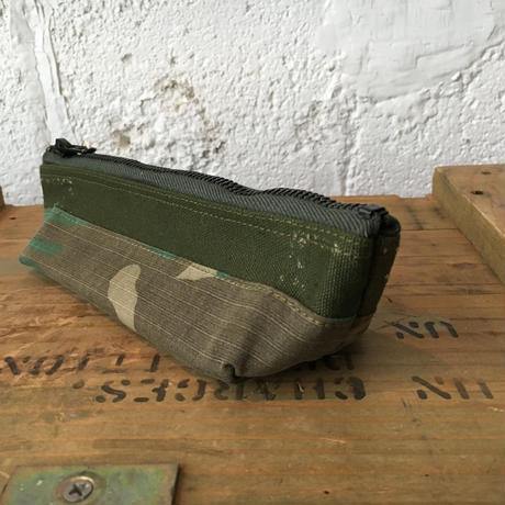 vintage fabric pen case