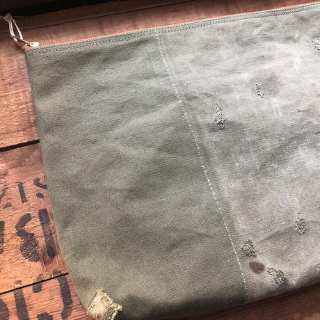 1950~60's zip pouch large