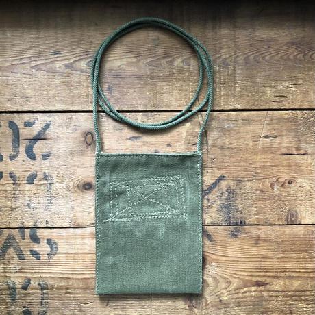 1940〜50's canvas neck pouch#2