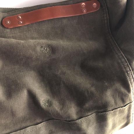 #1259 1940〜1950's duffle shoulder bag