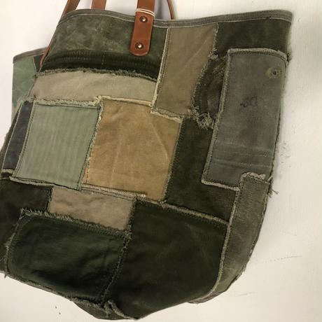 #772 patchwork tote