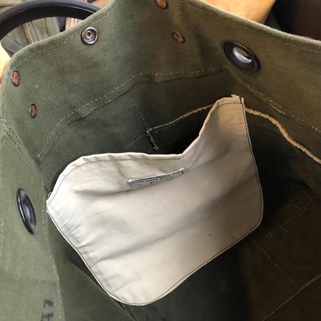 #1120 1960's duffle messenger bag