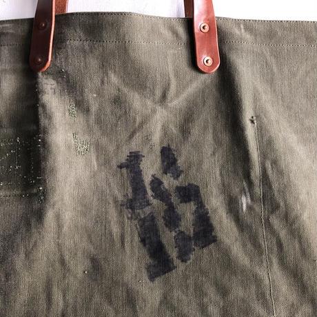 #1117 1950's duffle tote
