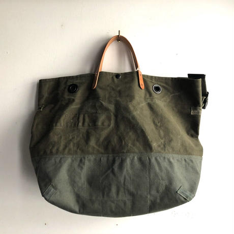 #1179 duffel & kitbag duffle mush-up messenger bag