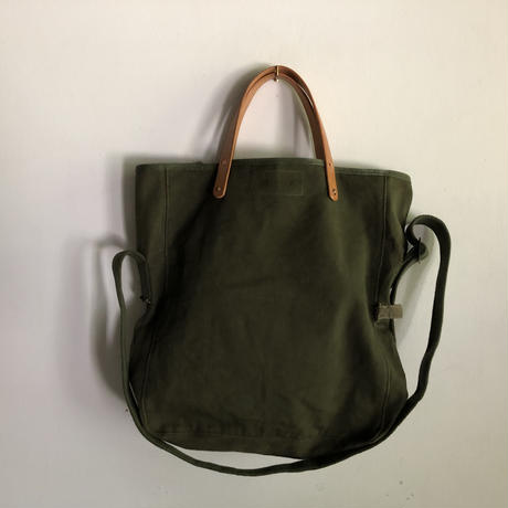 #823 1960's USMC field cargo pack modified