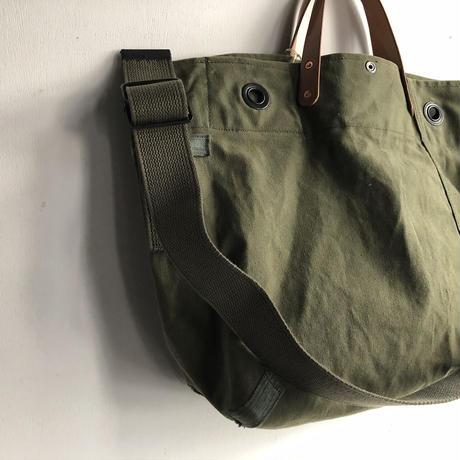 #1235 1970's duffle messenger bag