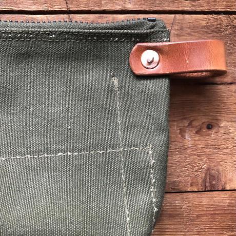 1960's canvas pouch scovill zipper