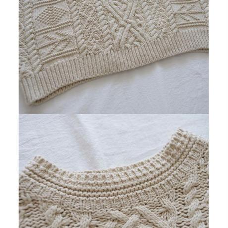 2color: Vintage like Aran Knit  送料無料 143