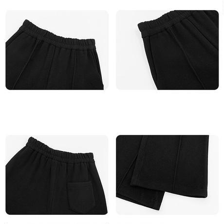 2color : Center Tack Drawstring Waist Pants 90273 送料無料