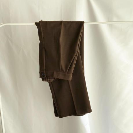 【即納】2color : Wool blend Tack Drawstring Waist Pants 90132 送料無料