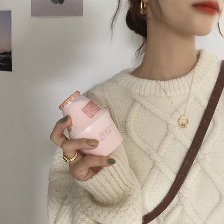 3color : Loose Cable Knit 90241 送料無料