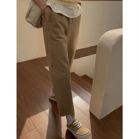 Iirregular Soft Denim Pants   90302 送料無料
