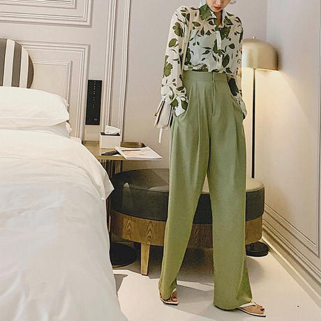 2color : Avocado Tack Trousers 90196 送料無料