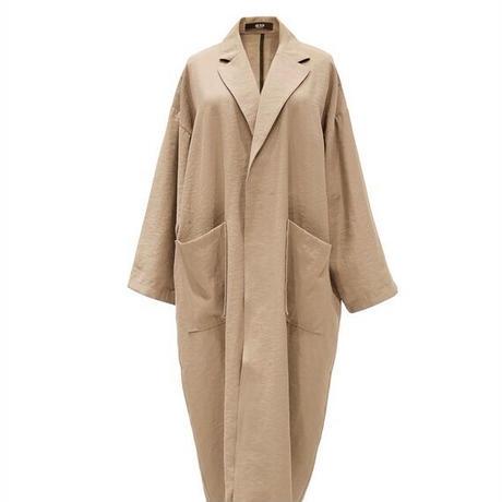Loose Long Gown Coat    送料無料