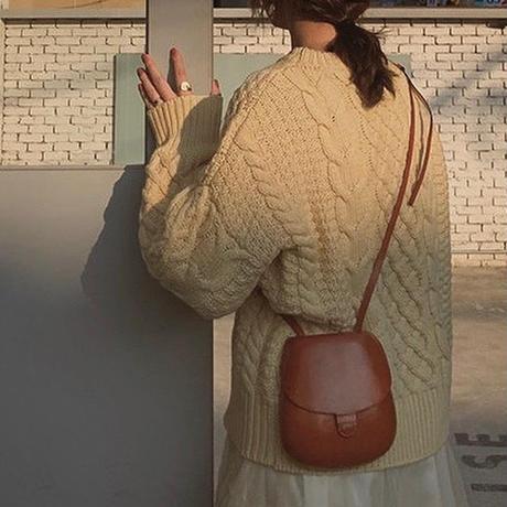 Vintage like Aran Knit 155 送料無料