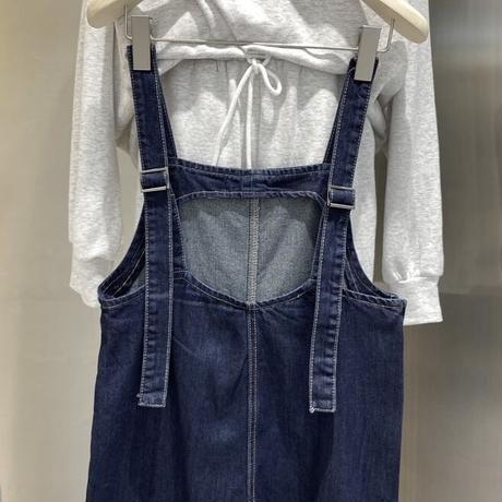 Pocket Denim Salopette 90295 送料無料