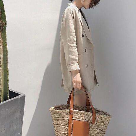 【即納】  Linen 100% Setup Shortpants 78  送料無料