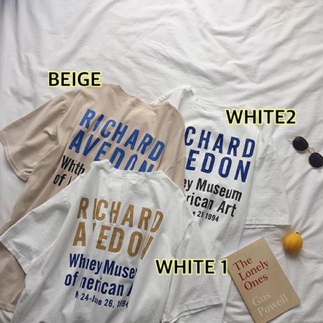 3color RICHARD T  送料無料