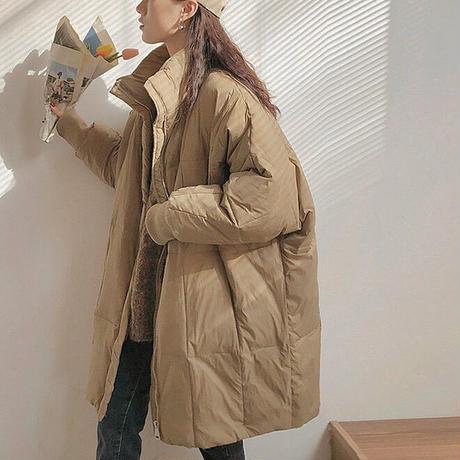 2color : Standcollar Eco Down Jacket 90268 送料無料