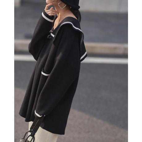 Big Sailor Knit 90282 送料無料