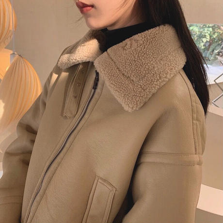 Beige B-3 Flight Jacket 90264 送料無料