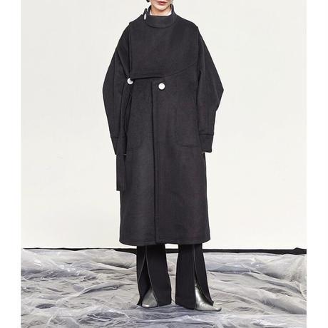 2color : Mode Style Wool Coat 90280 送料無料