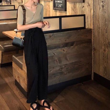 【即納】3color:Cache-coeur Summer Knit Tops  113  送料無料
